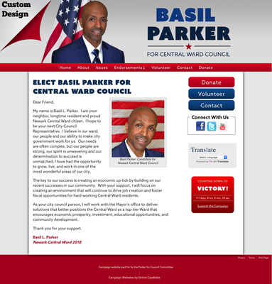 Basil Parker for Central Ward Council