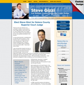 Steve Gizzi for Solano County Superior Court Judge
