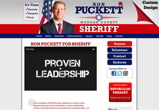 Sheriff Websites - example gallery