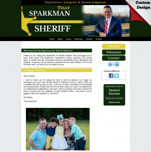 Tully Sparkman, Republican, for Sheriff