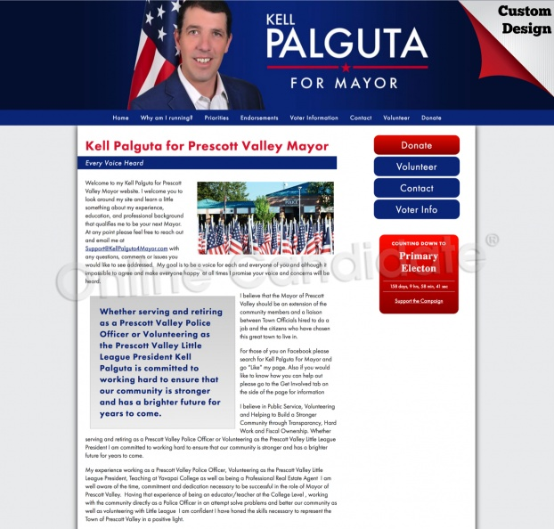 Kell Palguta for Prescott Valley Mayor