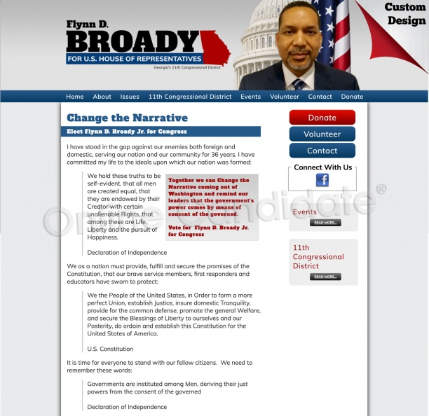 Flynn D. Broady Jr for Congress