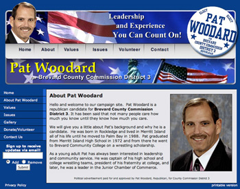 Pat Woodard for County Commissioner