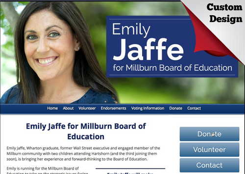 Board of Education Websites - example gallery